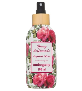 Spray Perfumado Desod. English Rose 200ml [Mahogany]