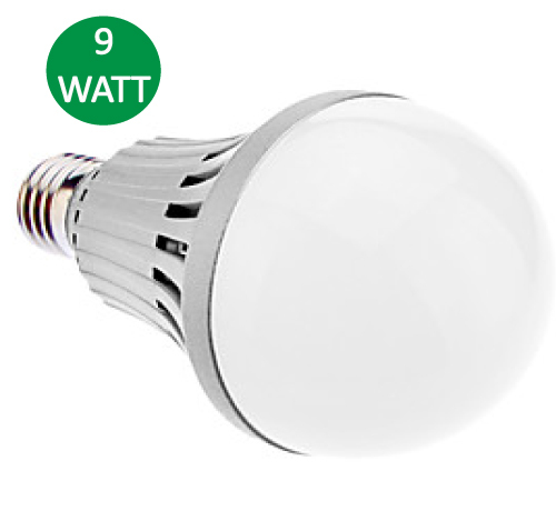 Lampara Bulbo LED 9W Blanco Frio