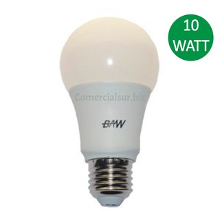 Lampara LED Baw E27 10W Blanco Frio