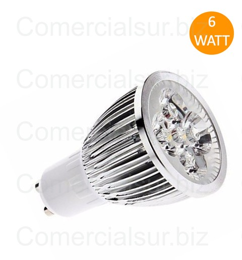 DICROICA LED GU10 6W BLANCO CALIDO