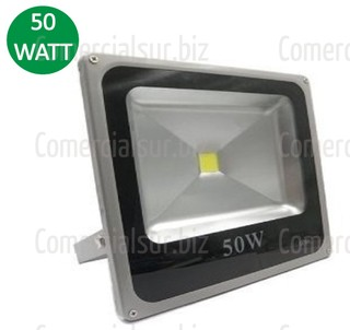 Reflector Led 50 Watts Exterior Proteccion IP 66 Blanco Frio