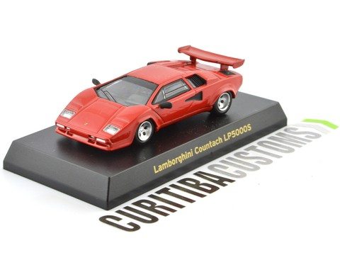 Kyosho 1:64 Lamborghini Countach LP5000S - Red