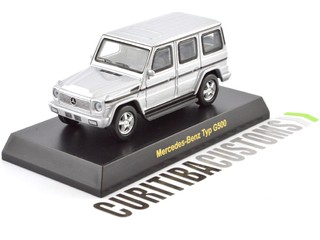 Kyosho 1:64 Mercedes G500 - Silver