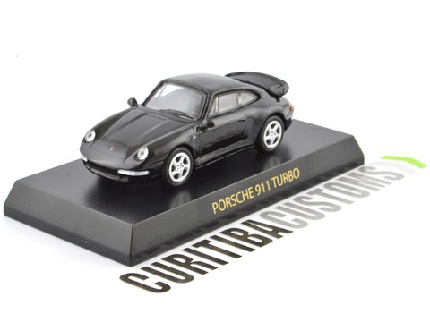 Kyosho 1:64 Porsche 911 Turbo - Black