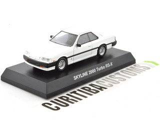 Kyosho 1:64 Skyline 2000 Turbo RS-X - Branco na internet