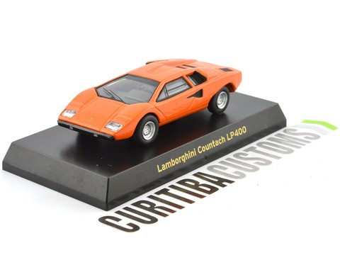 Kyosho 1:64 Lamborghini Countach LP400 - Orange
