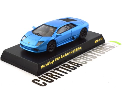 Limited Edition 1:64 Lamborghini Murciélago 40th Anniversary #03 of 03