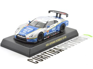 Kyosho 1:64 Super GT500 GT-R HIS Advan