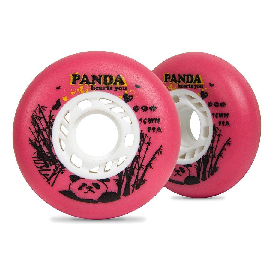 Rodas para patins Panda PRO T&B rosa