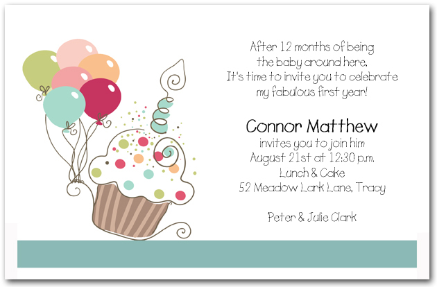 Cupcake Birthday Invitations was awesome invitations sample