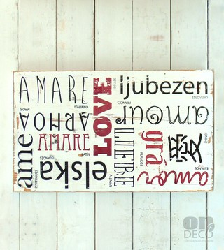 Cartel vintage | LOVE en internet