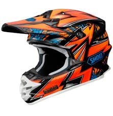 SHOEI VFX - W MAELSTRON ORANGE BLACK (Talle M, L)