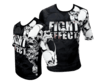 Rashguard FIGHT EFFECT Caveira manga corta