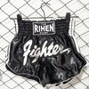 Shorts Muay Thai Negro Fighter