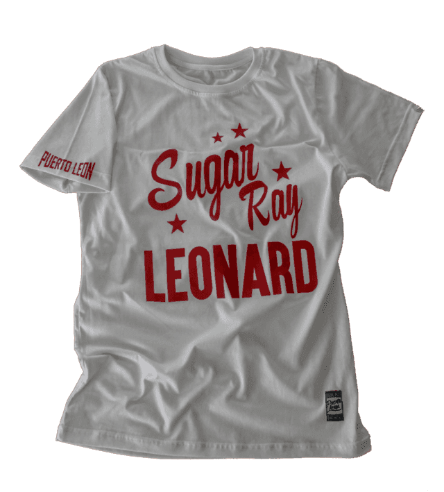Remera Ray Sugar Leonard - blanco