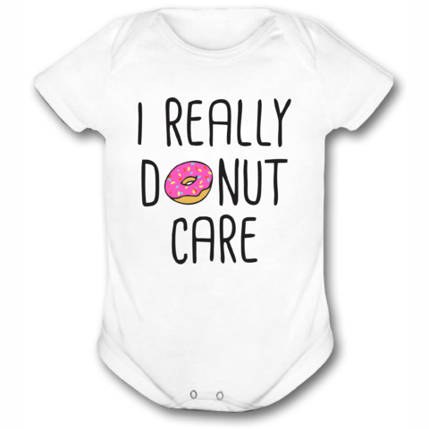 BODY OU CAMISETINHA DONUT CARE