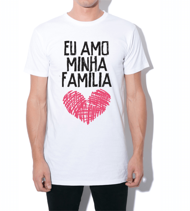 Camiseta tradicional eu amo minha famlia lietta camiseta tradicional eu amo minha famlia altavistaventures Images