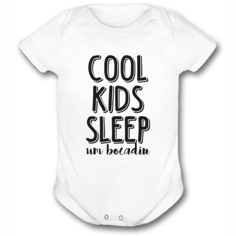 BODY OU CAMISETINHA COOL KIDS SLEEP