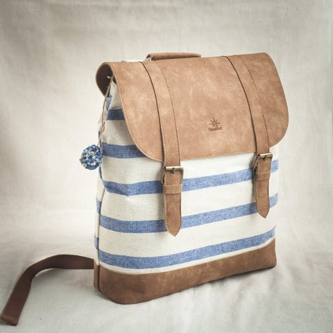 SQUARE BACKPACK NAUTIC