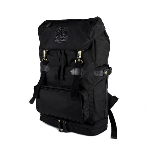 CAMP BACKPACK PREMIUM BLACK