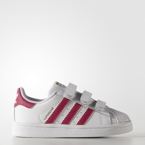 Zapatillas Adidas Originales Superstar N.27 Kids Nena Rosa
