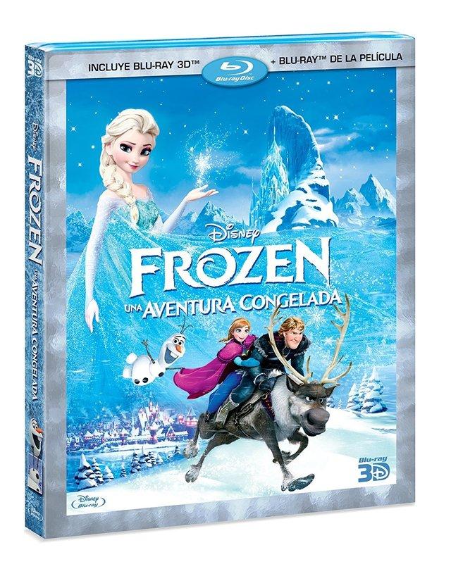 Frozen Una Aventura Congelada Pelicula En Blu-ray 3D + Blu-ray