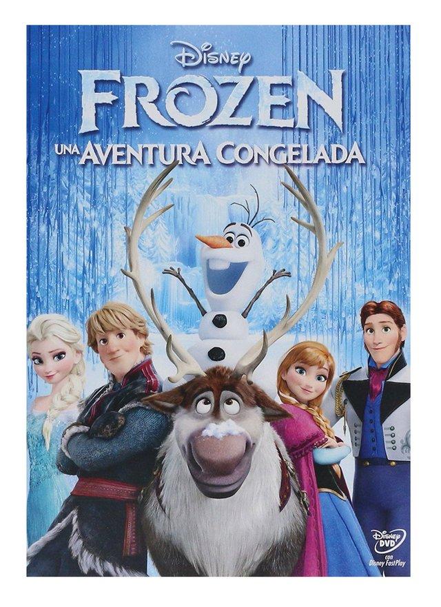 Frozen Una Aventura Congelada Pelicula En DVD - Karzov