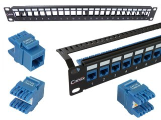 ABP-02K - Patch Panel Descarregado 24p - Ix Technology