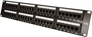 MPE-11 K - Patch Panel Cat5e 48p - Ix Technology