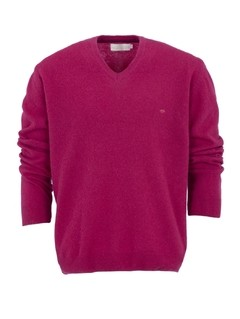 Sweater Lambswool Cornelio Saavedra - Cereza