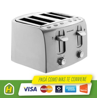 TOSTADORA PHILCO TO-PH40 1600W