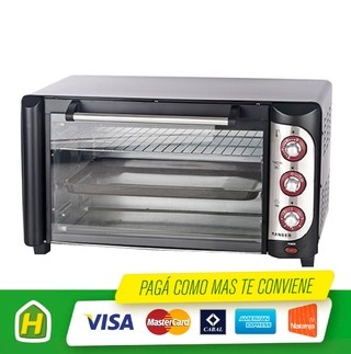 HORNO ELECTRICO RANSER HE RA42 40LTS