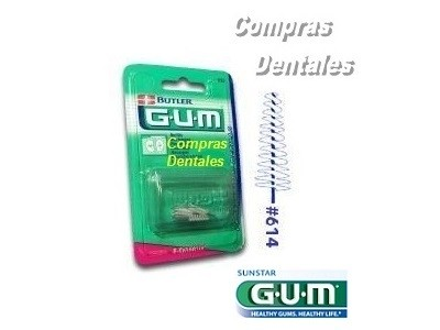Cepillo interdental GUM 614 cónico x 8 u.