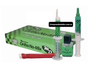 Cemento ortodoncia ORTHO NO MIX KIT MINI Avío completo. - comprar online