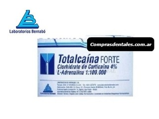Anestesia TOTALCAINA F inyectable blister x 10 u - comprar online