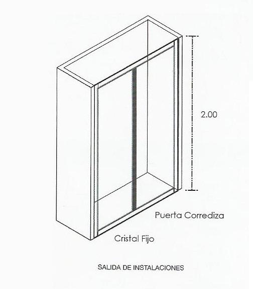 Cabinas De Baño Oikos:Cancel Corredizo – Comprar en Oikos Design