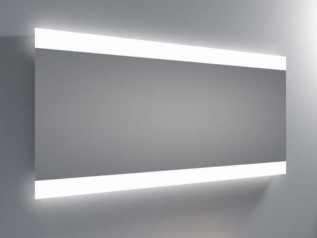 Espejo luz led integrada resplandor 2 barras for Espejos con luz integrada