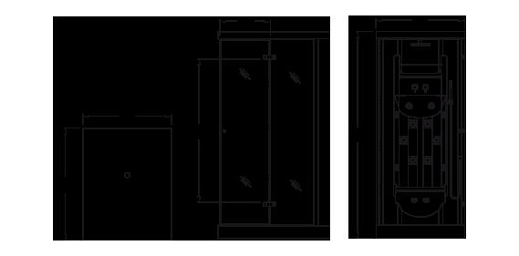 Cabinas De Baño Oikos:Cabina Minimalista – Comprar en Oikos Design
