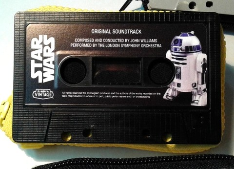 Monederos cassette Star Wars!
