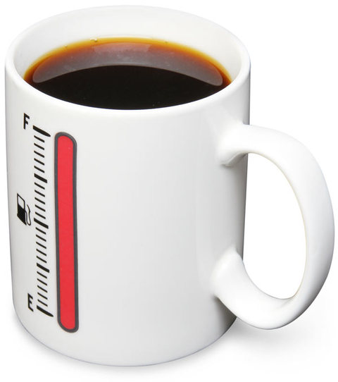 Taza FUEL sensible al calor