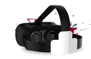 Lente de realidad virtual en internet