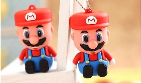 Pendrive Mario Bros 16 GB!
