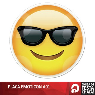 PLACA EMOTICOS A01