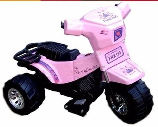 Moto Triciclo A Bateria Super Girly Art. AU109