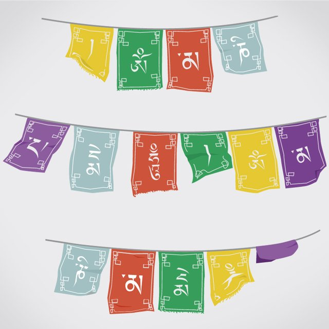 PRAYER FLAGS - BANDERAS - buy online