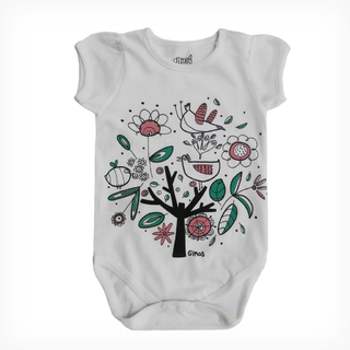 Body Mini Bullo m/c Blanco est Arbol Collage