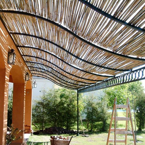 Bambuguazu - Pergola bambu ...