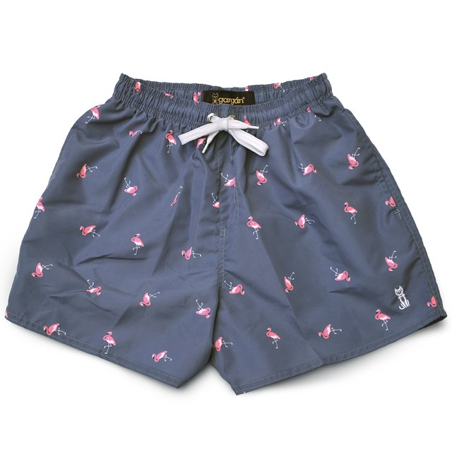 Short De Baño Flamingo