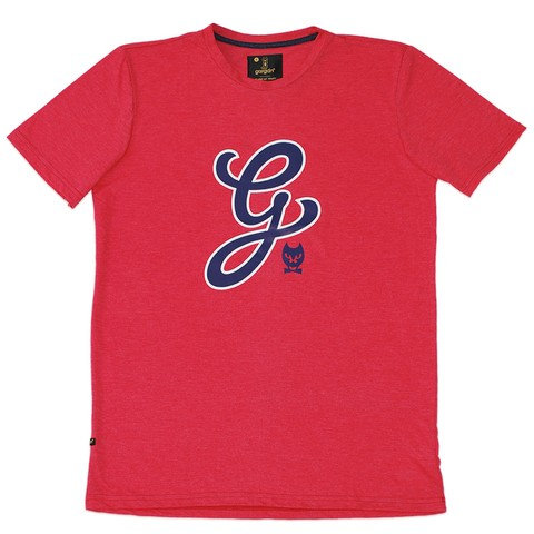 Remera G Family / Coral Intenso Melange