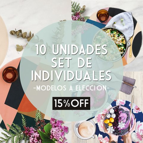 PACK 10 UNIDADES * INDIVIDUALES